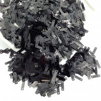 Пайетки Италия 9*2.5мм Чёрный металл (9919); 3 грамма