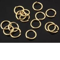 Соединительное колечко, размер 6*0.7мм; цвет золото, 5 грамм