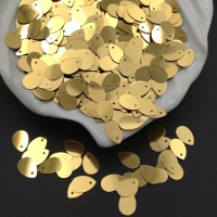 Пайетки Италия; Капля Золото металл (2011); 3 грамма