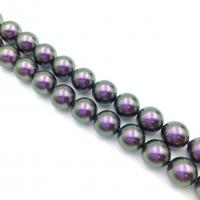 Swarovski 10 бусин Crystal Iridescent Purple Pearl