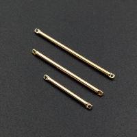 Коннектор Палочка-цилиндр, 35*1.5 мм, цвет золото