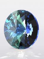 Swarovski Rivoli Crystal Bermuda Blue, размер 12мм (1122)