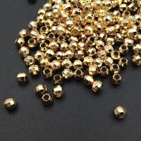Бусина гранёная 4.7*4.2мм, цвет золото; 10штук