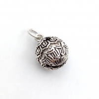 Серебро, Подвеска шар-колокольчик 11,7мм