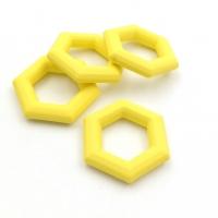 Элемент Сота, пластик, размер 27мм, Южная Корея; Жёлтый
