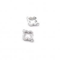 Бусина-бочонок с сердцами, цвет золото