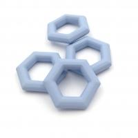 Элемент Сота, пластик, размер 27мм, Южная Корея; Голубой