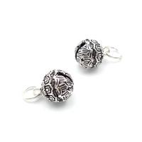 Серебро, Подвеска шар-колокольчик 9,4мм