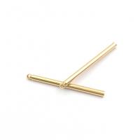 Бусина Крест с черепами, цвет чёрный