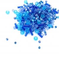10 грамм -Бисер TOHO MIX № 3230 Фиолетово-голубой
