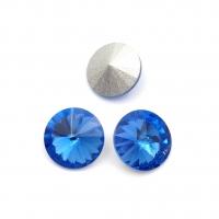 Кристалл Риволи 12мм Sapphire