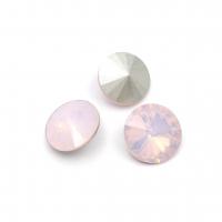 Кристалл Риволи 12мм Rose Opal