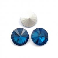 Кристалл Риволи 14мм Denim Blue