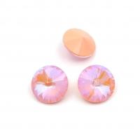 Кристалл Риволи 14мм Peach DL