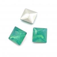 Кристалл Квадрат 10мм Chrysolite