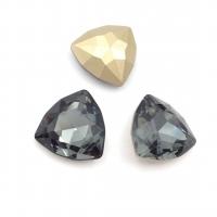 Кристалл Триллиант 17мм Hematite