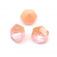 Кристалл Шестигранник 10мм Peach DL