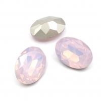 Кристалл Овал 18*13мм Rose Opal