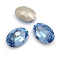 Кристалл Овал 18*13мм Light Sapphire