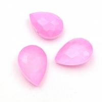 Кристалл Капля 14*10мм Laquer Pink