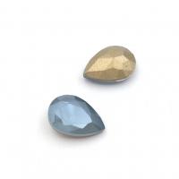 Кристалл Капля 14*10мм Laquer Blue Shade