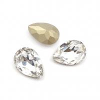 Кристалл Капля 14*10мм Crystal