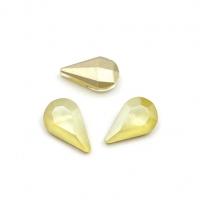 Кристалл Капля 8*13мм Laquer Yellow