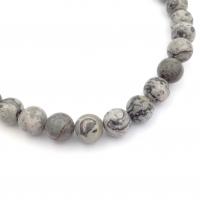 Агат Белый натуральный, мелкие грани, A Grade, 14мм, 1 бусина