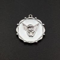 Швензы Фианит-Квадрат, цвет платина