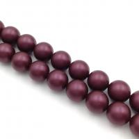 Swarovski 10 бусин Crystal Elderberry Pearl