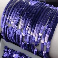 Пайетки Италия; плоские 4мм; Светло-Фиолетовый metallizzati (5161); 3 грамма