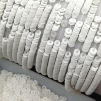 Пайетки Италия; Плоские, 4мм; цвет Белый сатин (176W)