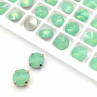 Кристалл Риволи 10мм Chrysolite Opal