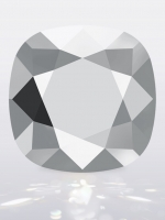 Swarovski CUSHION Square Light Chrome, размер 12мм (4470)