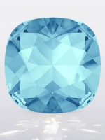 Swarovski CUSHION Square Aquamarine, размер 12мм (4470)