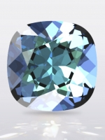 Swarovski CUSHION Square Bermuda Blue, размер 12мм (4470)