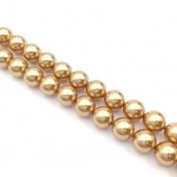 Swarovski 10 бусин Crystal Bright Gold Pearl