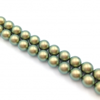 Swarovski 10 бусин Crystal Iridescent Green Pearl