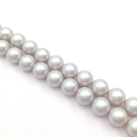 Swarovski 5810 10 бусин Crystal Iridescent Dove Grey Pearl