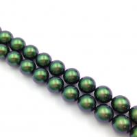 Swarovski 10 бусин Crystal Scarabaeus Green Pearl