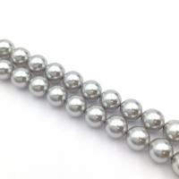 Swarovski 10 бусин Crystal LiGHT Grey Pearl