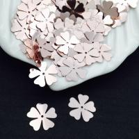 Пайетки Италия Клевер-Цветок, Античная Роза Metallizzati (3071); 15 штук