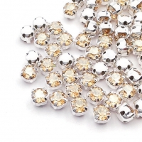 Swarovski Шатон 4мм Silver Golden Shadow- 20 штук (арт.53200)