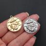 Медальон Якорь 25мм, Южная Корея