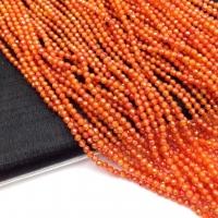 Фианит ювелирной огранки шар 2мм, цвет Сердолик