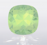 Swarovski CUSHION Chrysolite Opal, размер 12мм (4470)