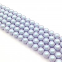 Swarovski 10 бусин Iridescent Dreamy Blue Pearl