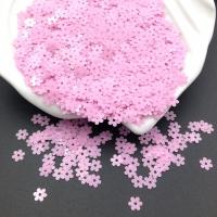 Пайетки Италия Цветок-5мм Роза фуксия глянец (3504); 3 грамма