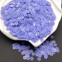 Пайетки Италия Цветок-5мм Глициния глянец (5084); 3 грамма