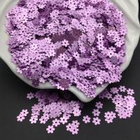 Пайетки Италия Цветок-5мм Лиловый сатин (506w); 3 грамма